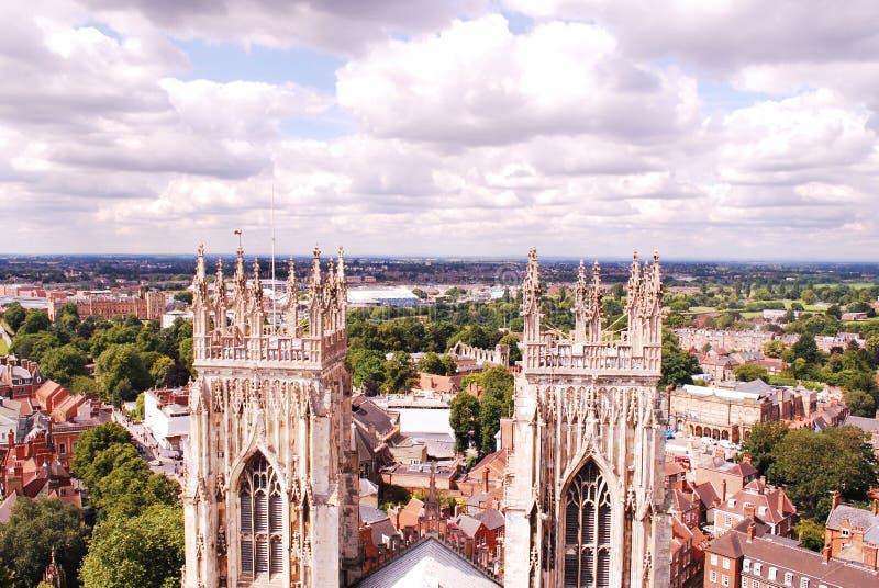 York Minster, è la cattedrale di York, Inghilterra, immagine stock