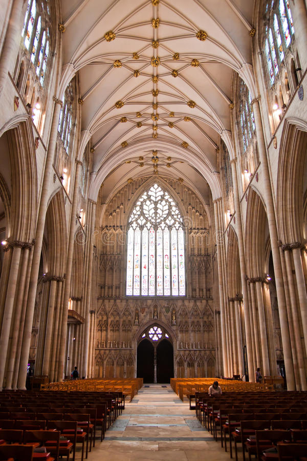 York Minster image stock