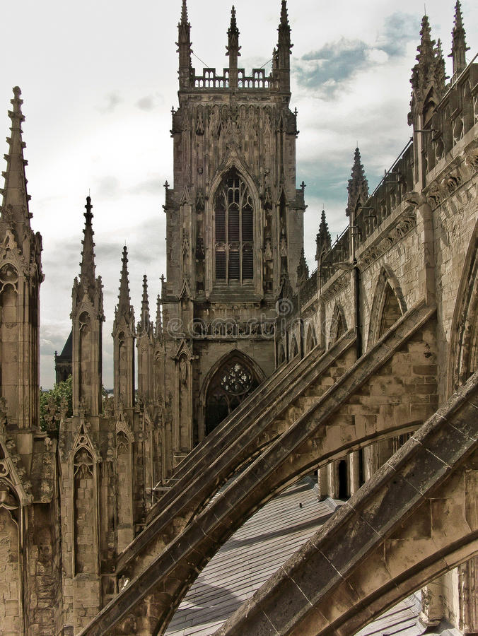 Download York Minster Abbey Gothic Cathedral Stock Photo