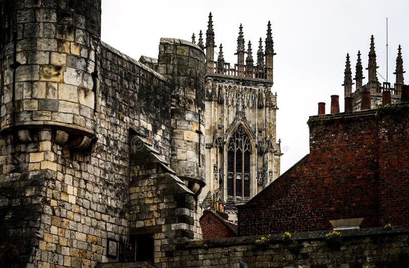 York Minster Cathedral UK royalty free stock photo