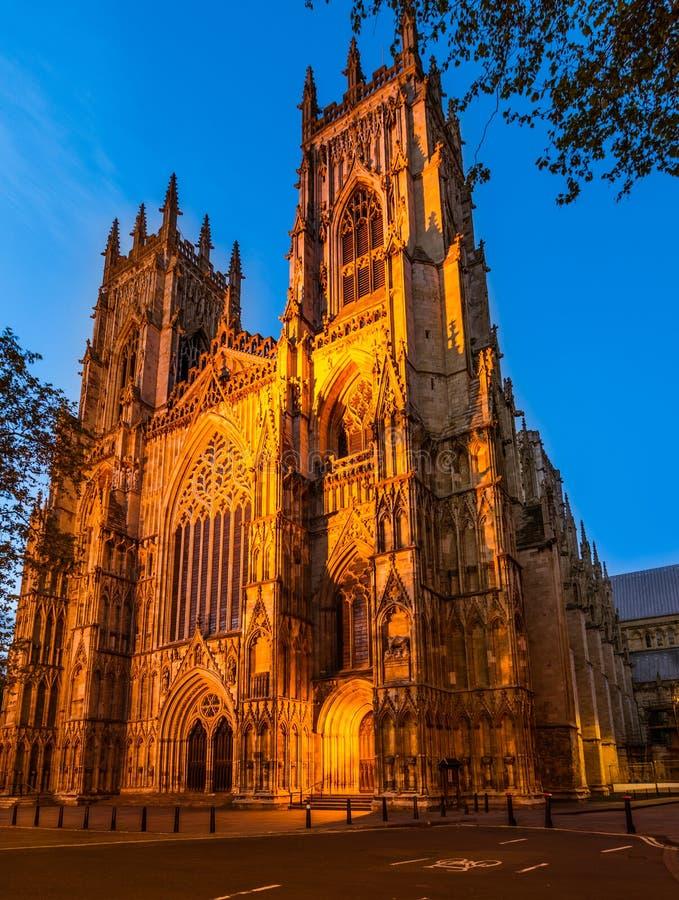 York Minster, cattedrale fotografia stock libera da diritti