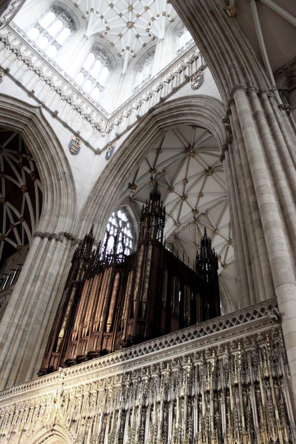 Download York Minster Organ, UK stock image. Image of culture - 11033979