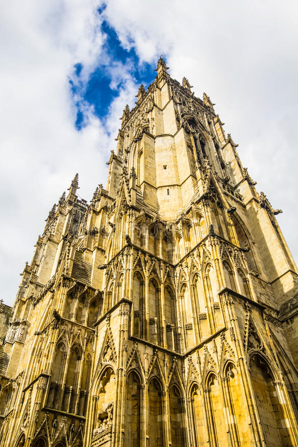 York Minster, York, England, United Kingdom. York Minster in York, England, United Kingdom, 2015 royalty free stock image