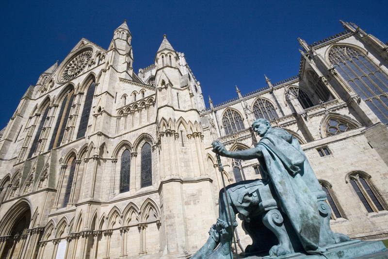 York Minster - York - l'Angleterre images stock