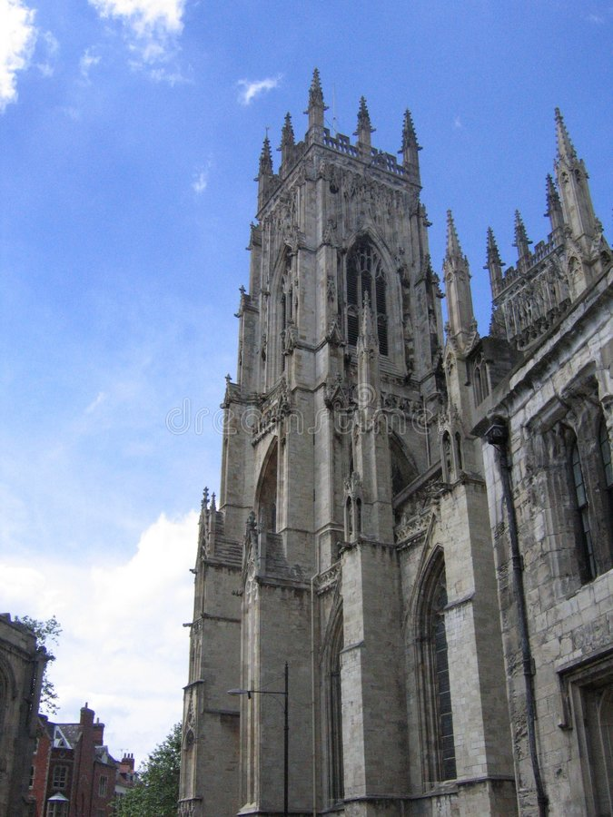 York Minster in Yorkshire royalty free stock photos