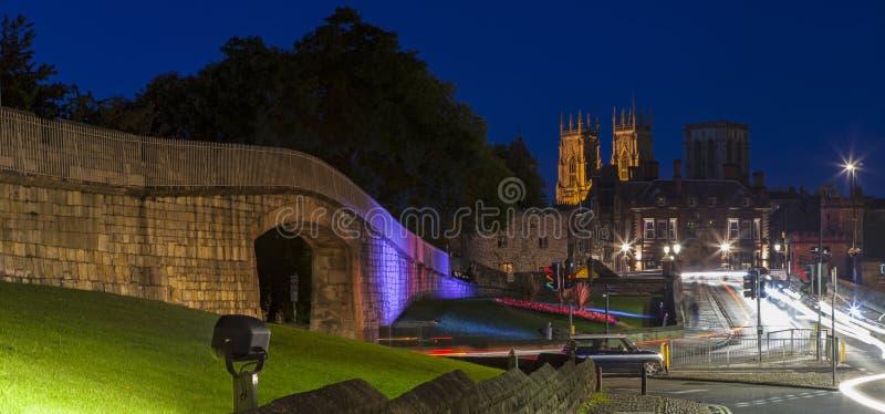 York at Night royalty free stock images
