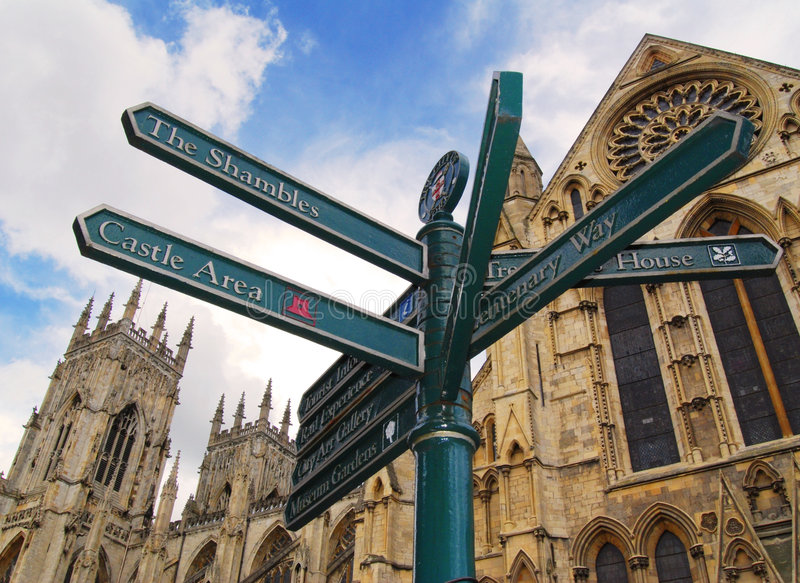 Download York sign post stock photo. Image of arms, yorkshire, north - 2896188