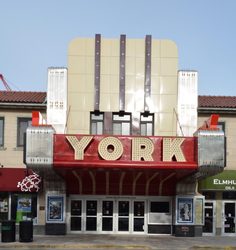 York teater royaltyfria bilder