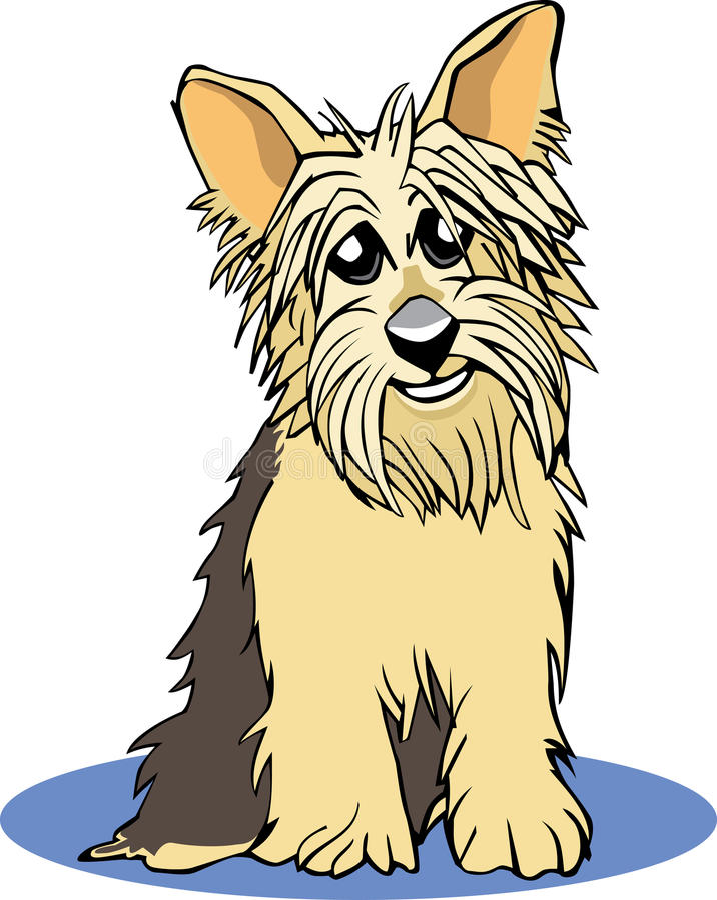 Download Yorkie Cartoon Stock Photos - Image: 15879903