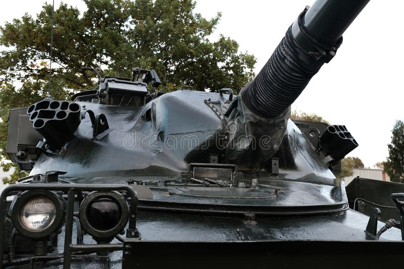 Yorkshire Air Museum, Elvington, York, Reino Unido, 21/10/2019 O Chefe FV 4201 foi o principal tanque de batalha do Reino Unido imagem de stock