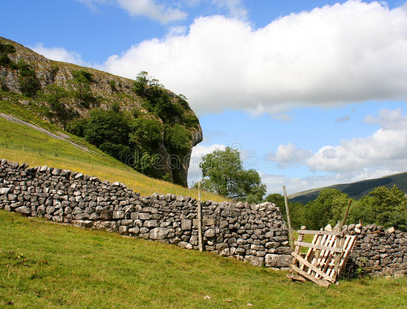Download Yorkshire countryside stock photo. Image of wall, travel - 1142732