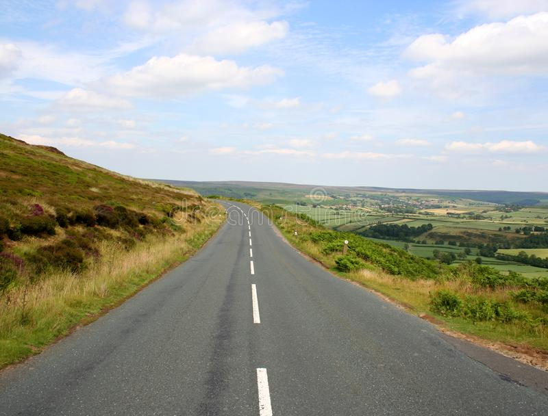 Yorkshire Dales road royalty free stock photography