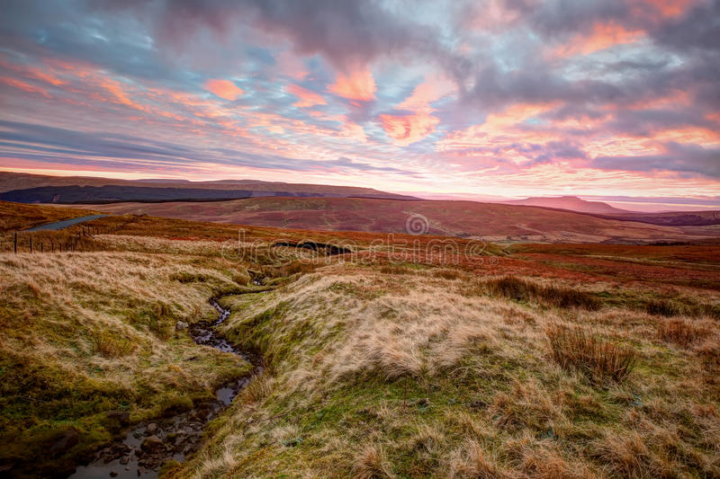 Download Yorkshire Dales At Sunset stock photo. Image of britain - 35719734