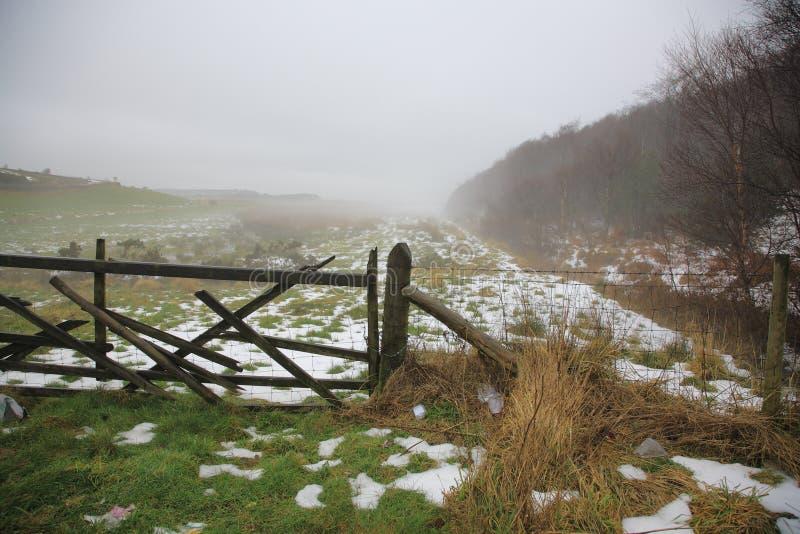 Yorkshire del norte amarra fotografía de archivo