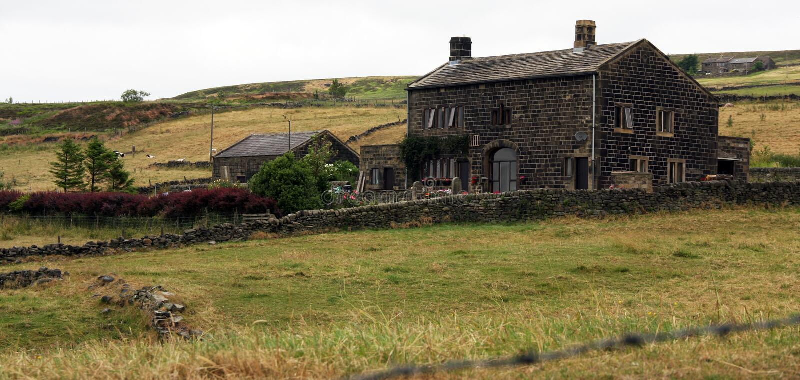 Yorkshire Farmhouse stock image
