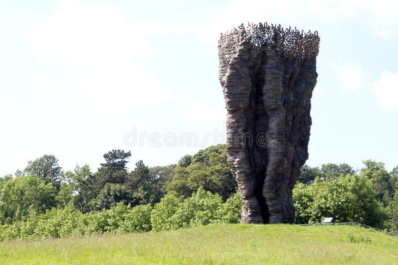 Yorkshire skulptur parkerar arkivfoto