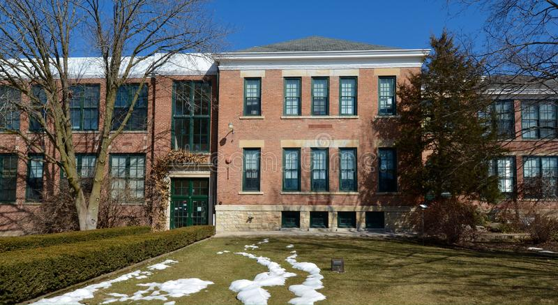 Yorkville High School stock photos