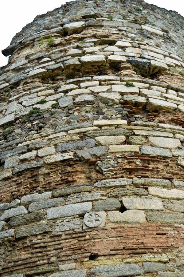Yoros slott Istanbul Karadeniz royaltyfri bild