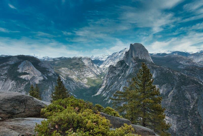 Yosemit-vy royaltyfria bilder