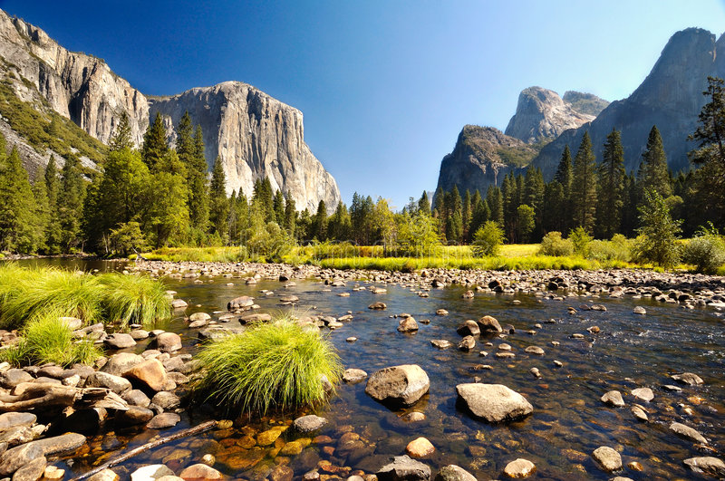 Yosemite stock photo