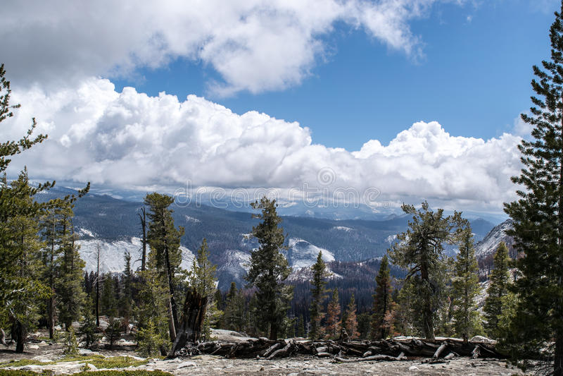 Yosemite-Ansicht stockfotos
