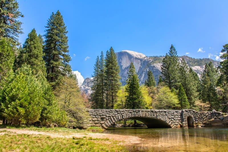 Yosemite bro arkivbild
