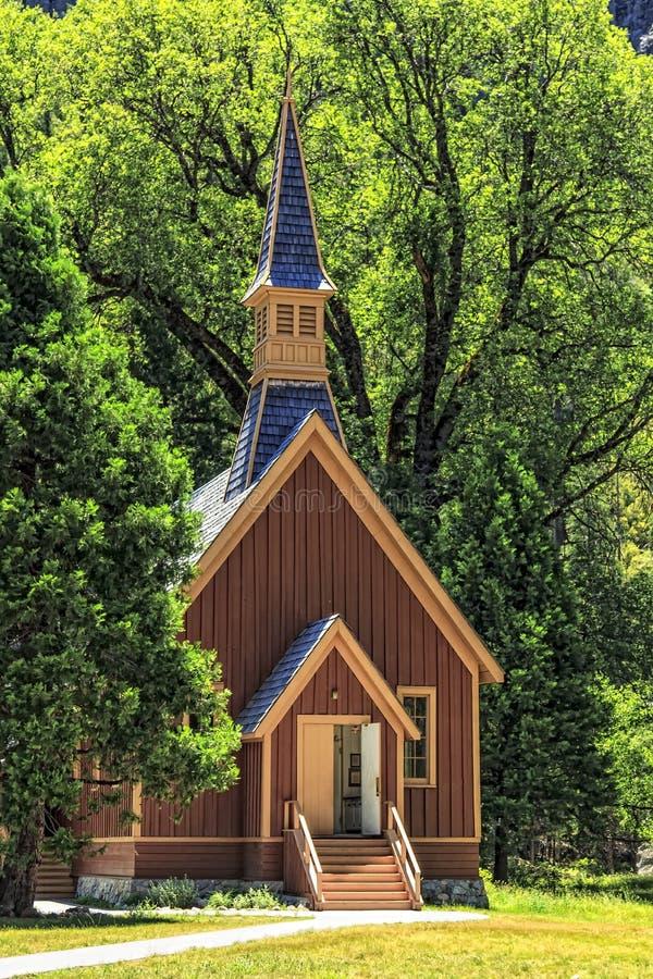 Yosemite Chapel stock images