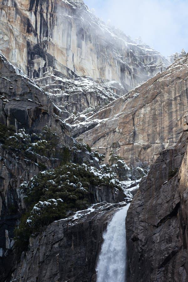 Yosemite Falls 1 fotografia stock