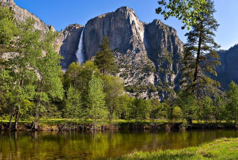 Yosemite Falls imagens de stock