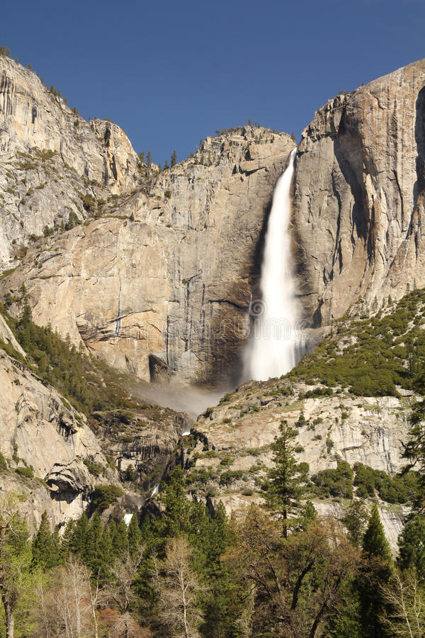 Yosemite Falls Fotografia Stock Libera da Diritti