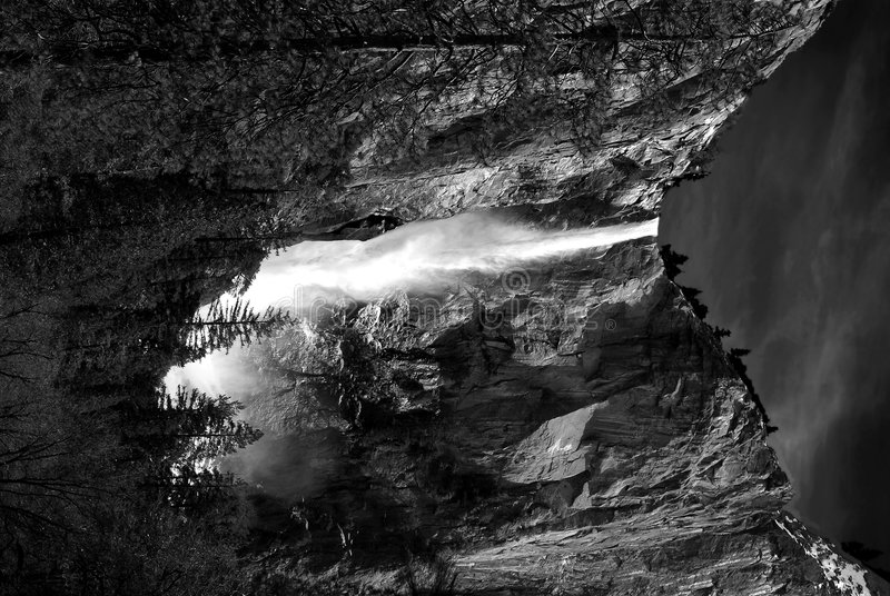 Yosemite Falls photos libres de droits