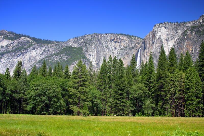 Yosemite Falls, parc national de Yosemite photographie stock libre de droits