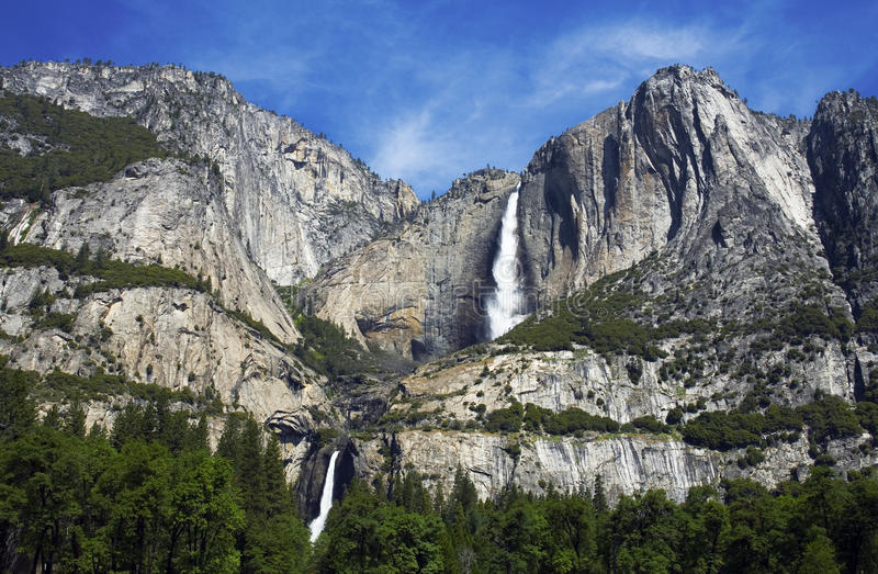 Yosemite Falls, Yosemite National Park, California royalty free stock photo