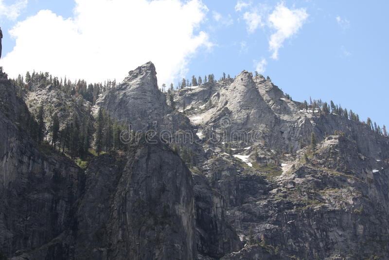 Yosemite góry zdjęcie royalty free