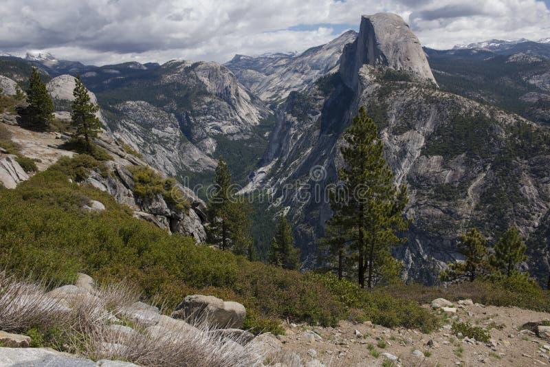 Yosemite Half Dome royalty free stock images