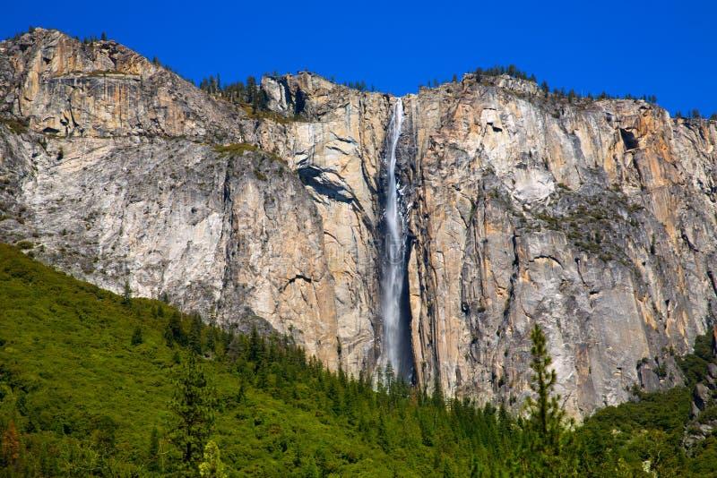 Yosemite-Horsetailfallwasserfall im Frühjahr Kalifornien lizenzfreie stockbilder