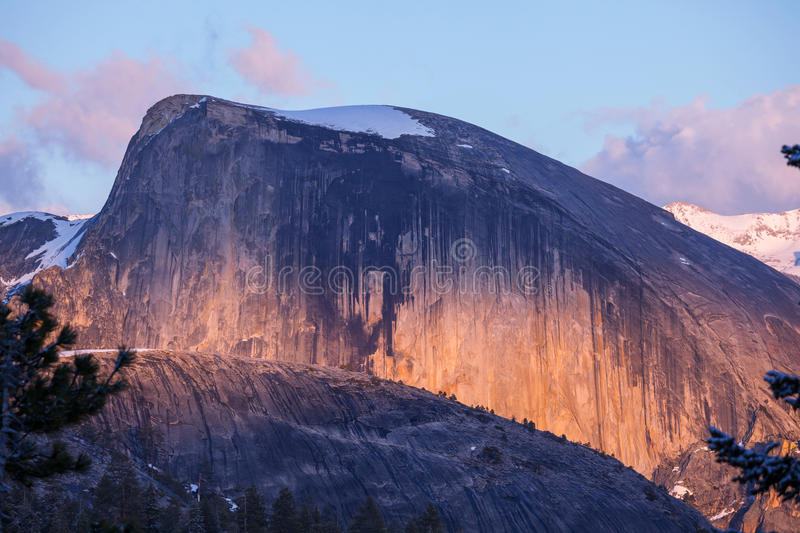 Yosemite. Landscapes royalty free stock photography