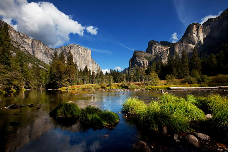 Yosemite. Landscapes royalty free stock images