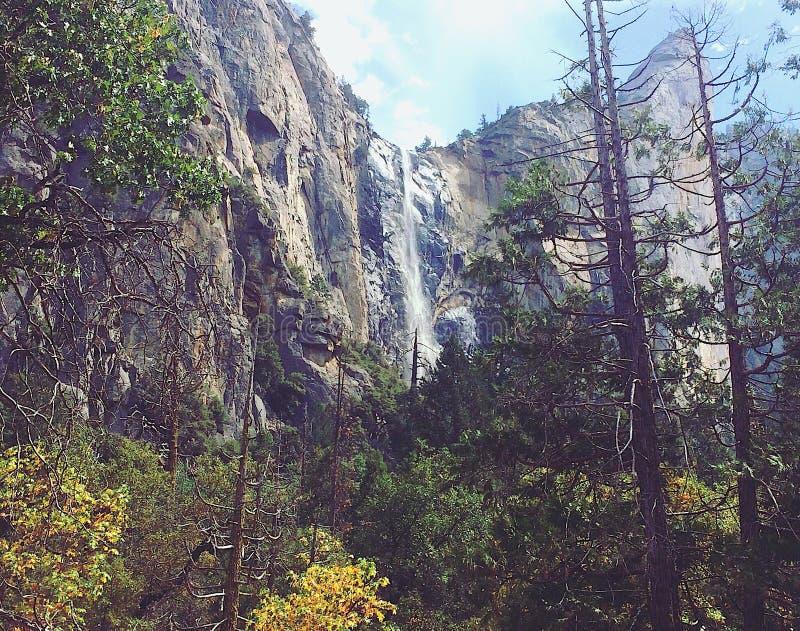 Yosemite Nationaal Park de V.S. stock foto