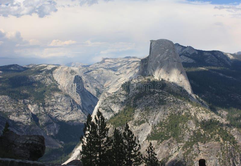 Yosemite National Park. Panoramic view on Yosemite National Park in California stock photo