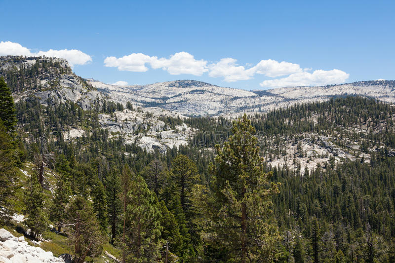 Yosemite national park in California royalty free stock images