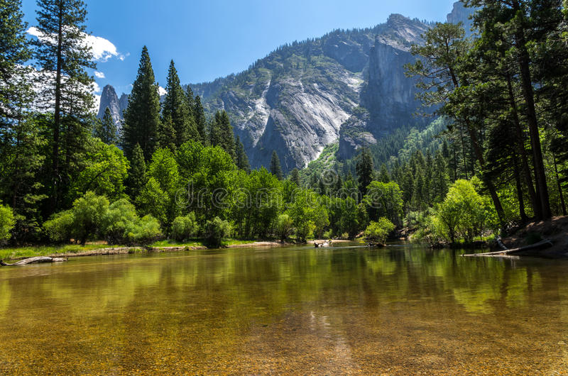 Yosemite National Park - Lake stock photo