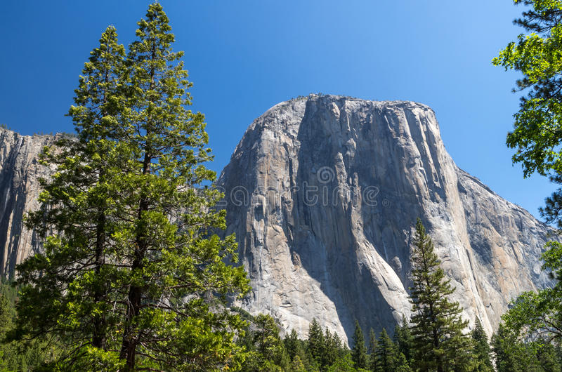 Yosemite National Park - Monolith royalty free stock images