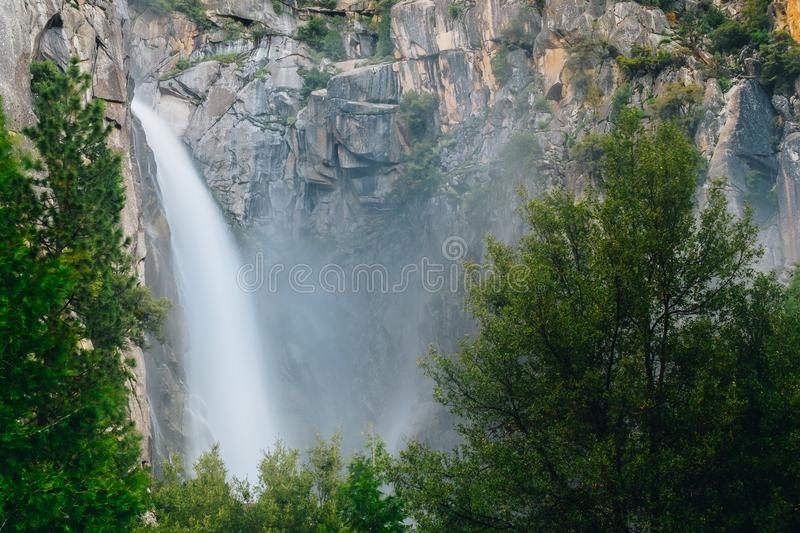 Yosemite National Park is a United States national park. Lying in the western Sierra Nevada of California, Designated a World Heritage Site in 1984 royalty free stock images