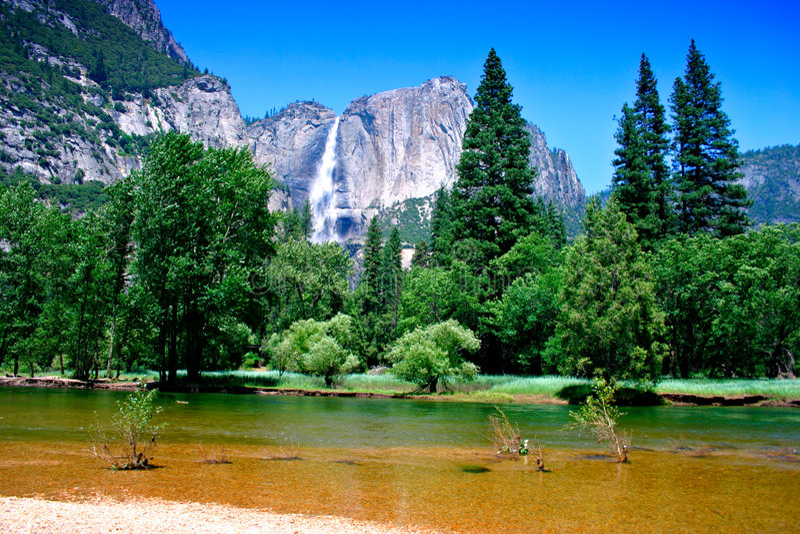 Download Yosemite National Park, USA Royalty Free Stock Photos - Image: 1405198