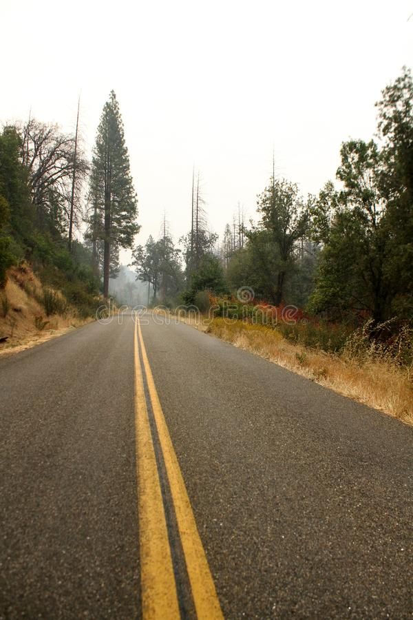 Yosemite Nationalpark im Herbst stockbilder
