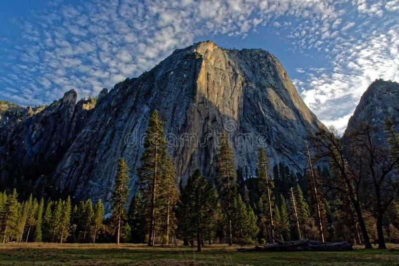Yosemite nationalpark, Kalifornien arkivbild