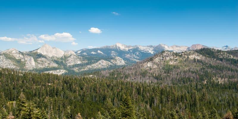 Yosemite-Panorama lizenzfreies stockbild