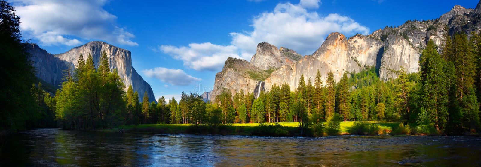 Download Yosemite Panorama stock photo. Image of valley, yosemite - 7657106