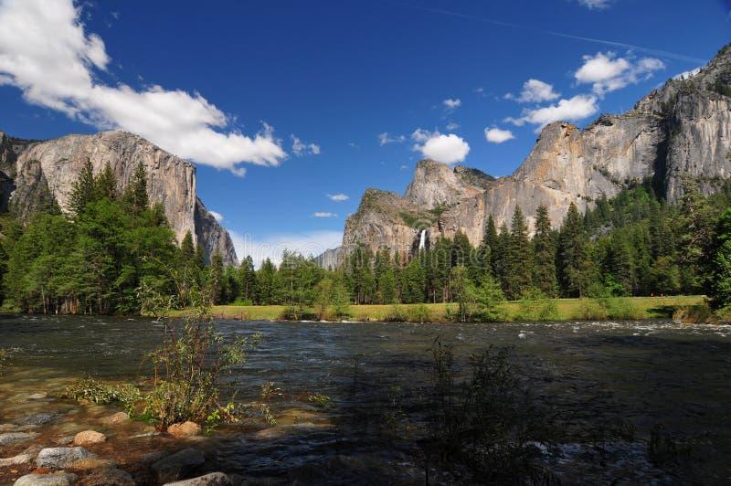 Yosemite-Park Kalifornien lizenzfreie stockfotos